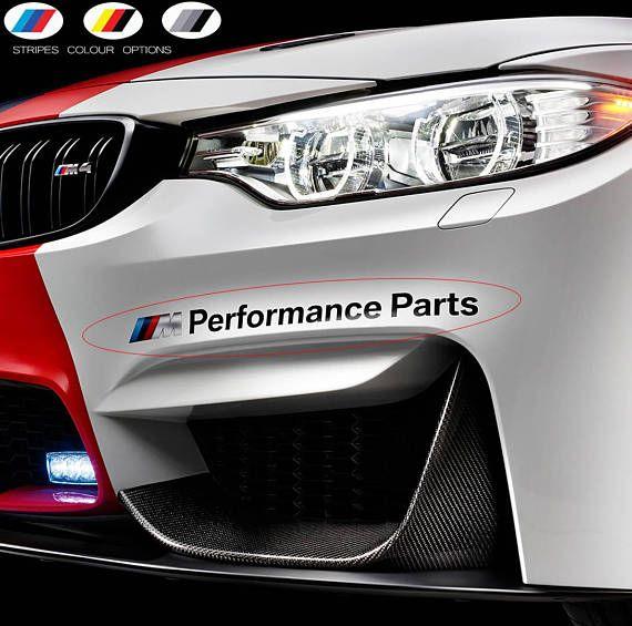 M Performance Stripe Reflective Sticker Whole Body Decal For BMW X6 M 2015