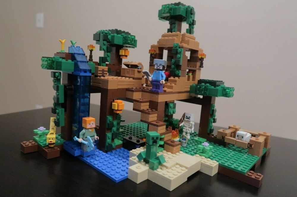 Lego Minecraft The Jungle Tree House 21125 100 Complete Extra