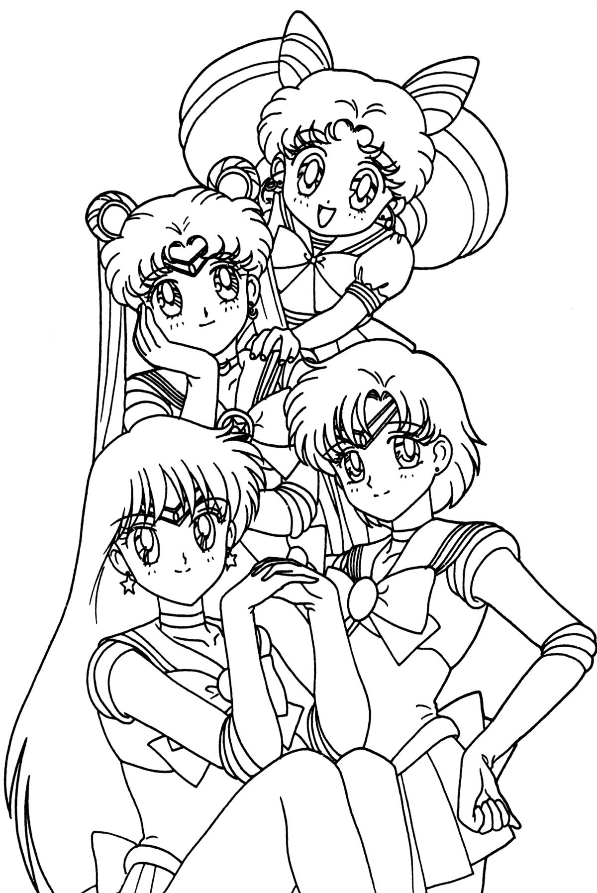 Http Www Hollowmoon Net Sites Tsuki Groups Group049 Jpg Moon Coloring Pages Sailor Moon Coloring Pages Cartoon Coloring Pages