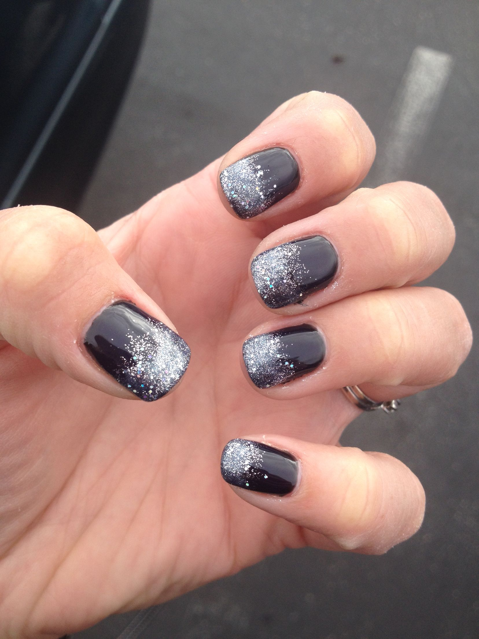 Gell Manicure, Shellac, Nail Design, Simple Nails, Sparkle