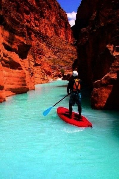 Havasu Creek in the Grand Canyon Arizona Paddle Board Down Havasu Creek in the Grand Canyon Arizona  On this tour we will take you to our favorite Island a secret hidden...
