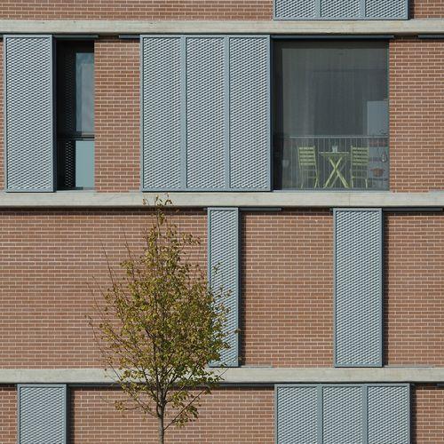 diverserighestudio — libeccio - edificio a [doppio] blocco per appartamenti.