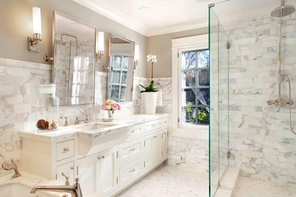15 Luxurious Marble Bathroom Designs Cottage Bathroom Inspiration Bathroom Design Small Bathroom Remodel Pictures