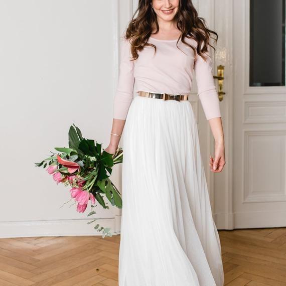 Constant Love® Braut Pullover ROSA mit Rückenausschnitt ...