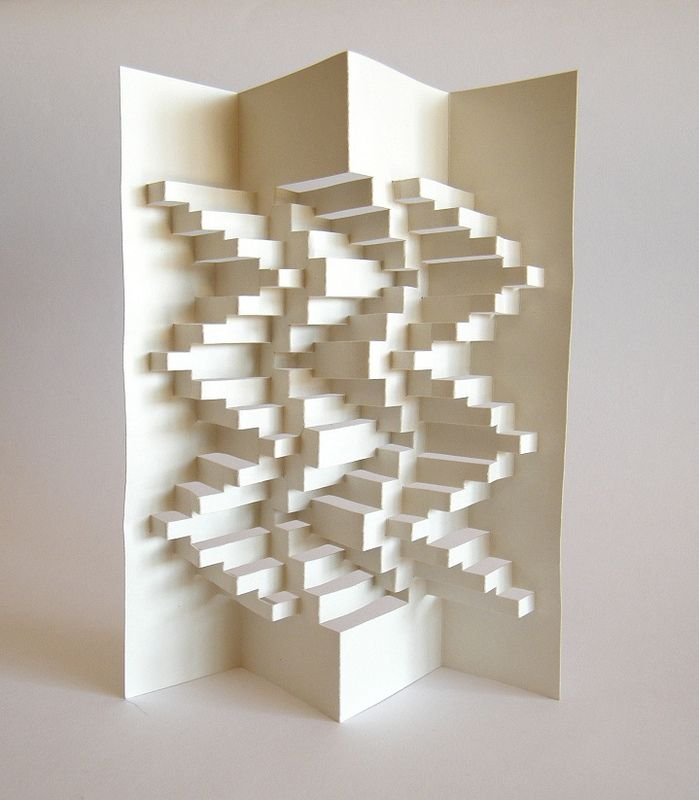 D Paper Structure Peter Dahmen D Paper D And Kirigami - Elaborate pop paper sculptures peter dahmen
