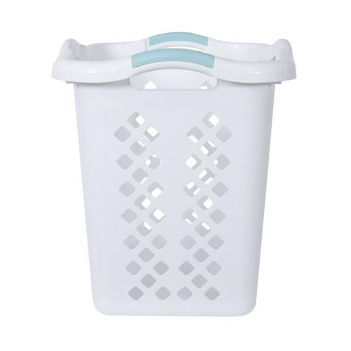 Home Logic Xl Lamper Laundry Basket 2 5 Bushel White Walmart