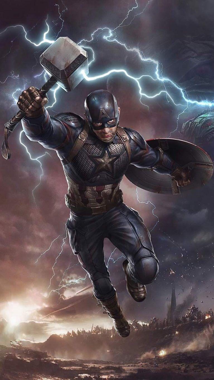 Captain America Powers Poster