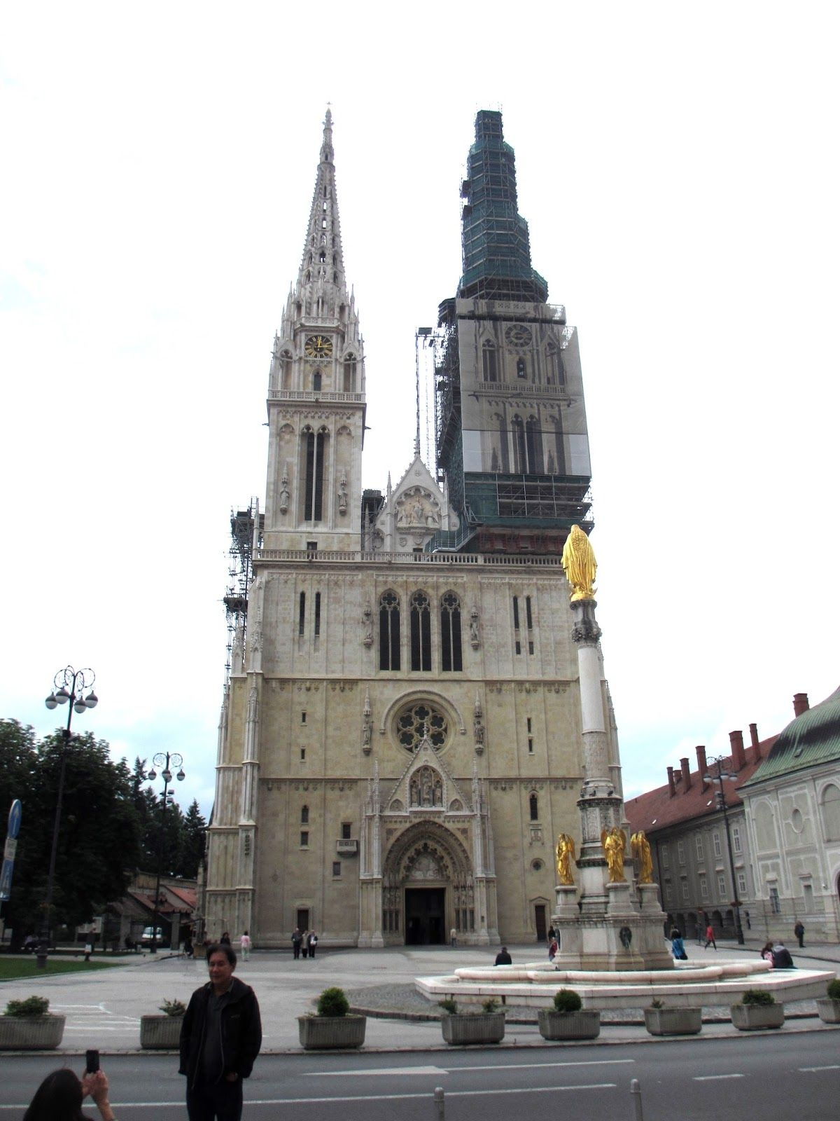 Cannundrums Cathedral Of The Assumption Zagreb Croatia Croatia Cathedral Zagreb