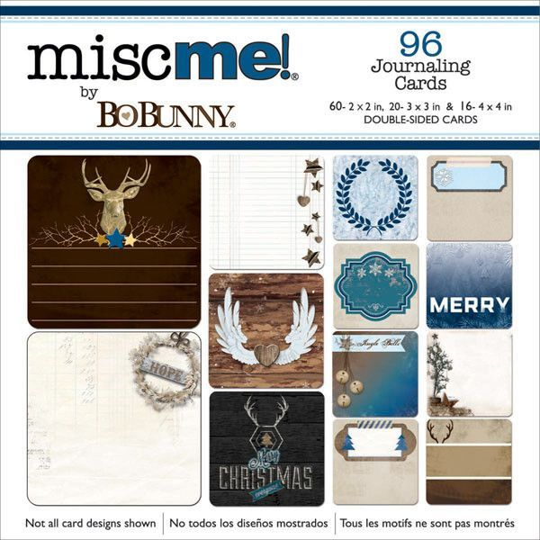 BoBunny Misc Me Journal Contents - Sleigh Ride