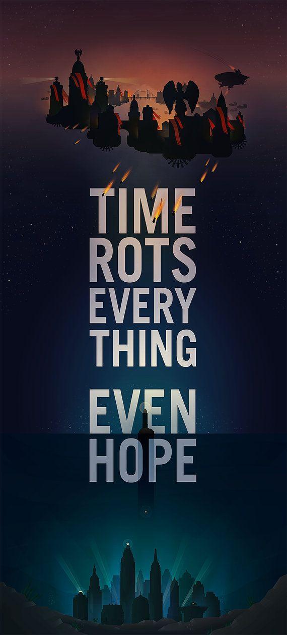 Citaten Weergeven Xbox One : Bioshock the seed of the prophet quote poster bioshock video