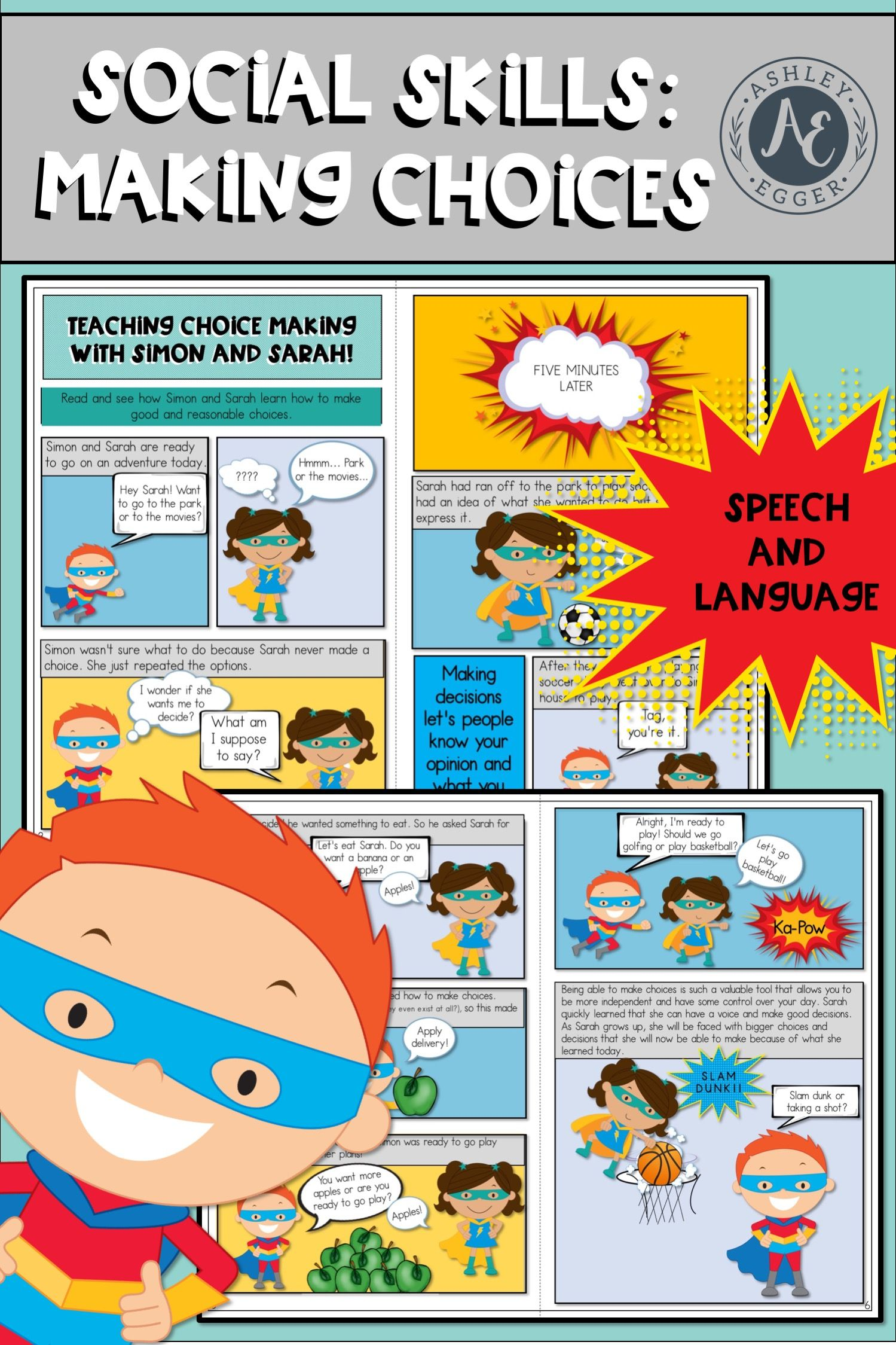 Choice Making Speech Therapy And Pragmatic Skills