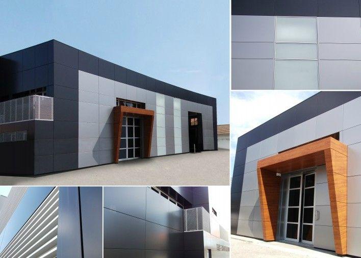Los paneles composite de aluminio nos ofrecen infinidad de for Revestimiento fachadas exteriores