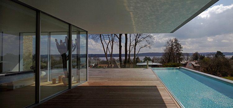 House S Lake Starnberg / Stephan Maria Lang Architects #lighting