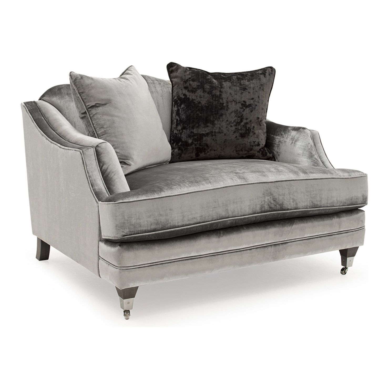 Sofa Covers Scatter Back Seater Sofa Grey