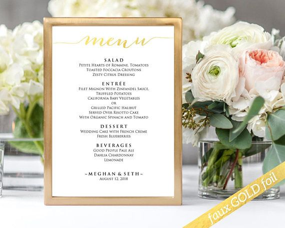 Menu Sign Template Instantly Download Edit And Print Your Own
