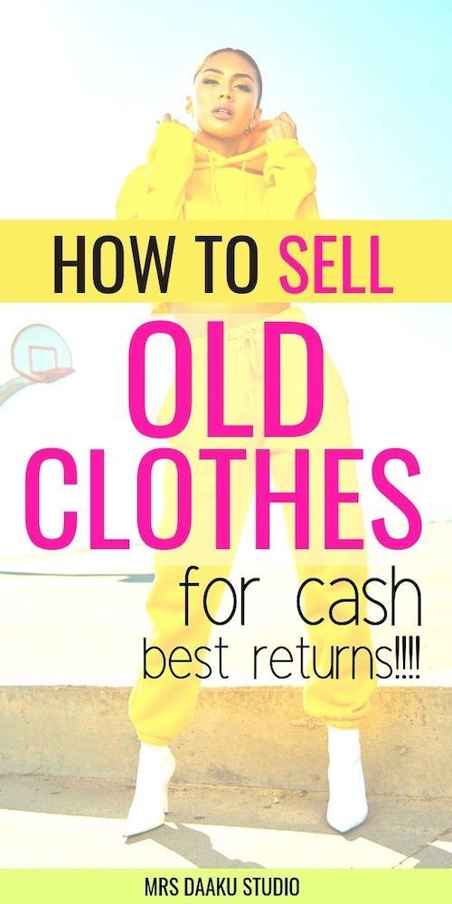 How to sell old clothes for money? A beginners guide