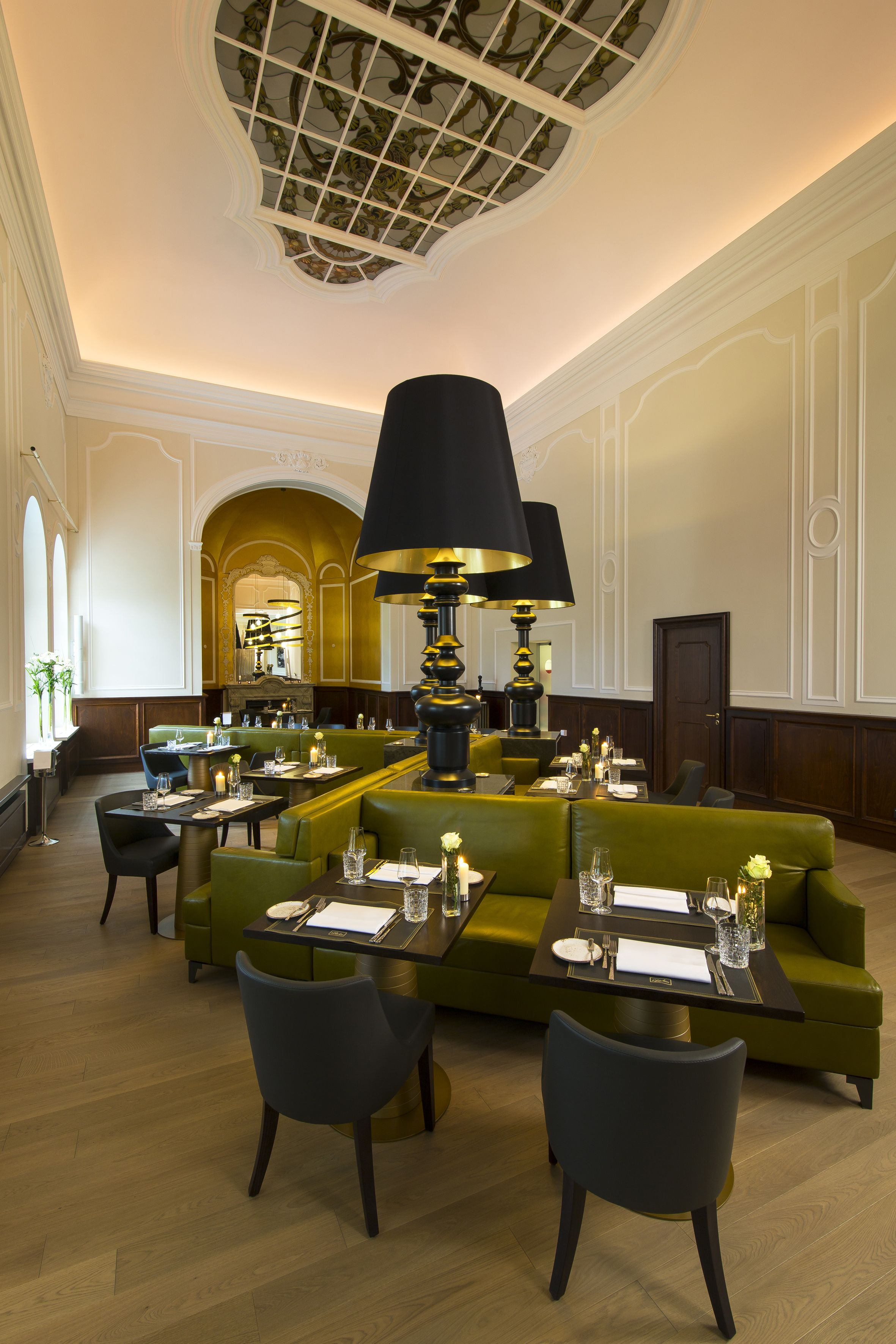 Buffet Hotel Mercure Wittenberg Berlin Design By Kitzig Interior
