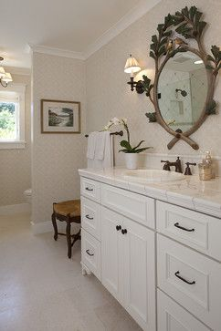 Combo Of White Cabinets Marbel And Oil Rubbed Bronze Fixtures Countertops Bath Design Ideas Pictures Remodel Decor