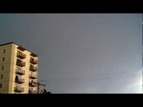 Lightning storm in Victoria, BC July 13th, 2012