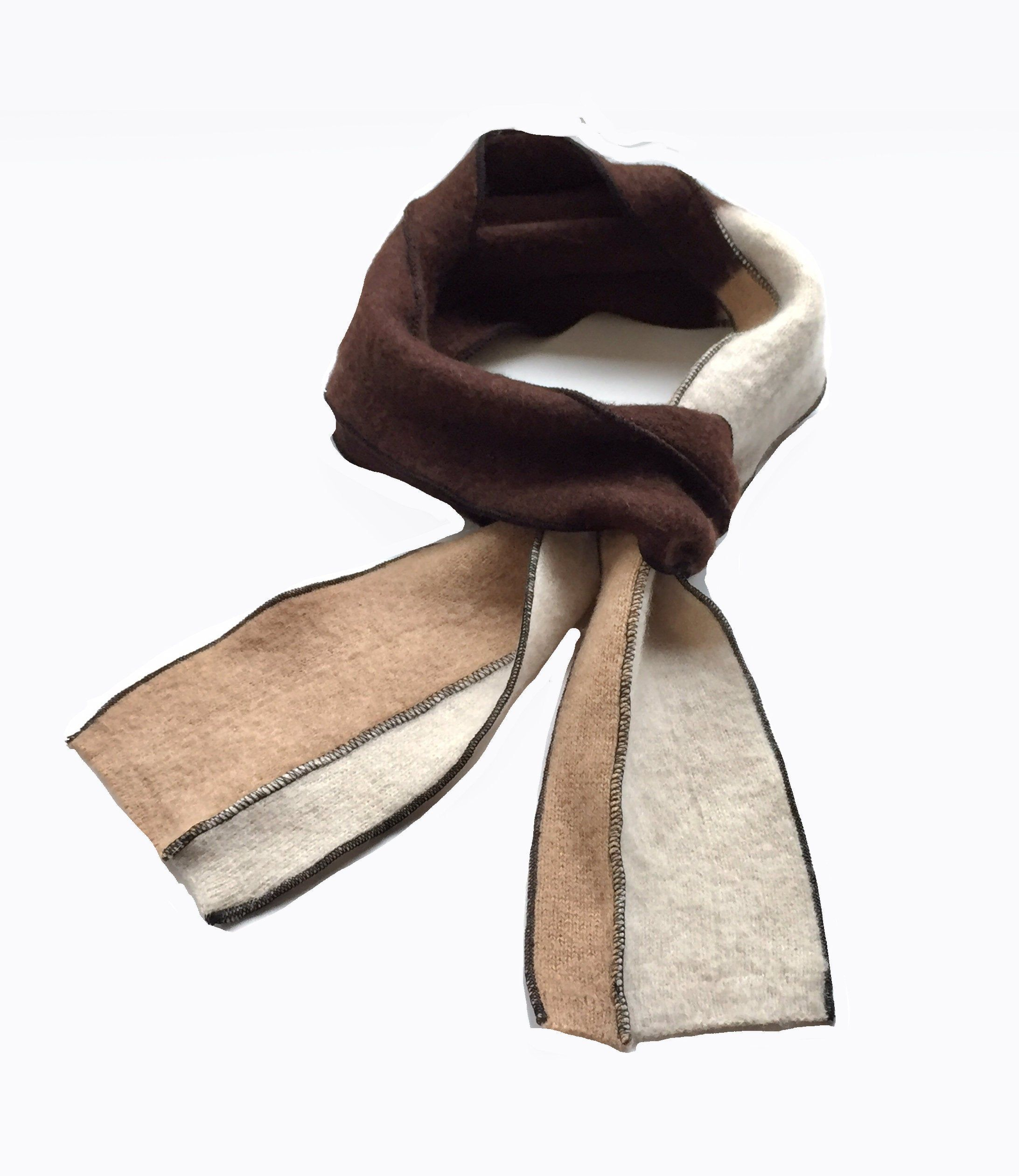 Photo of Cashmere Scarf, Loro Piana Cashmere, Knitted Scarf, Neutral Coloured,Camel, Chocolate , knitted cashmere,Gift for Girlfriend,Boyfriend Scarf