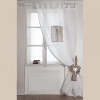 mathilde m rideaux anges amoureux 140 x 300 cm chez rideaux rideau rideaux. Black Bedroom Furniture Sets. Home Design Ideas