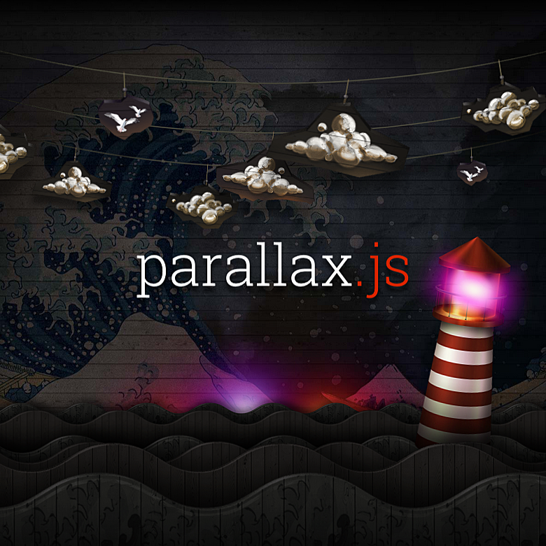 Simple, lightweight Parallax Engine that reacts to the orientation of a smart device. Where no gyroscope or motion detection hardware is available, the position of the cursor is used instead.