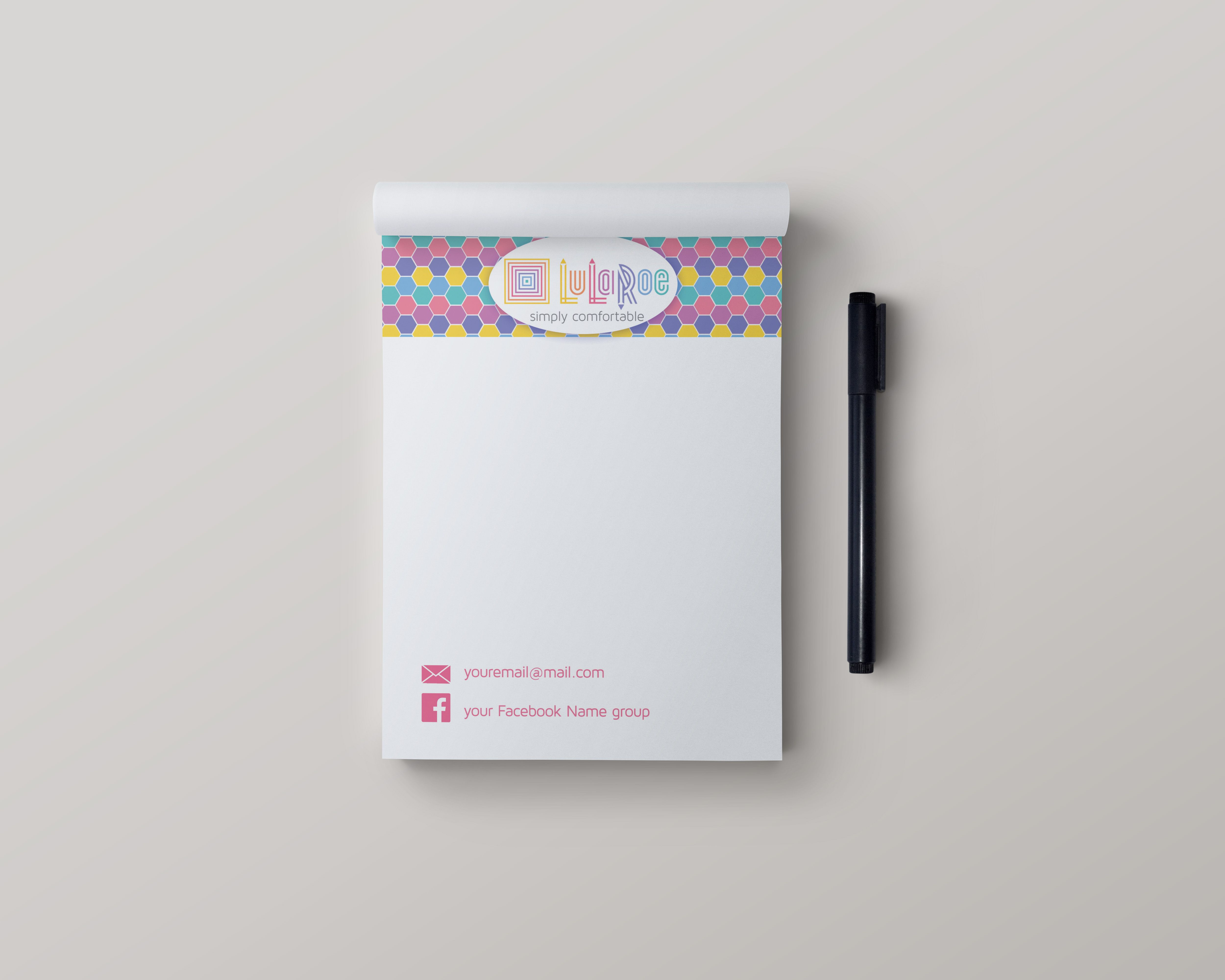 Stationery Note Pads -Honeycomb