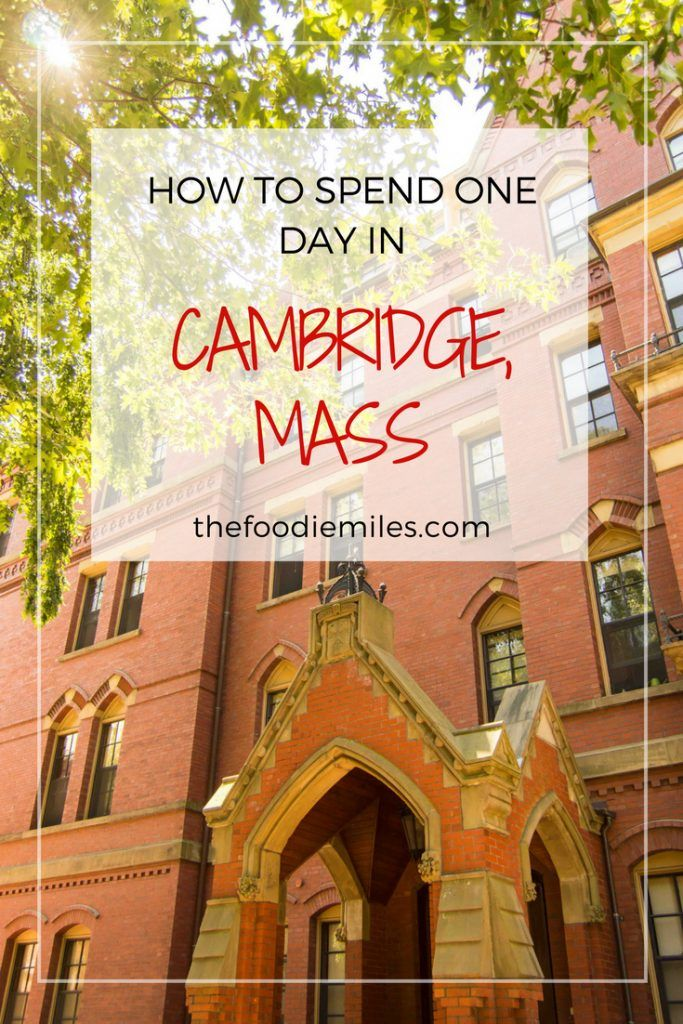 Best Things To Do In Cambridge Massachusetts In One Day Usa