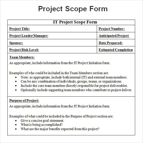 Project Management Templates, Statement Template, Dan Office