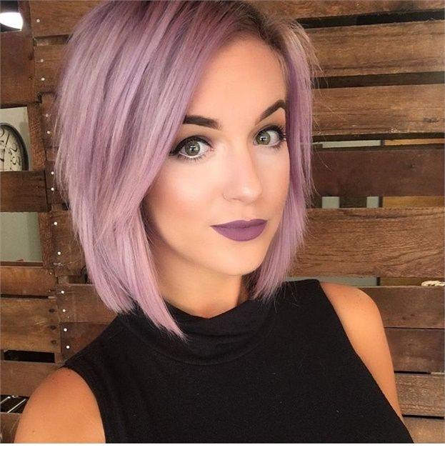 A Purple Lilac Hair Color Formula Hair Color Hair Color Formulas