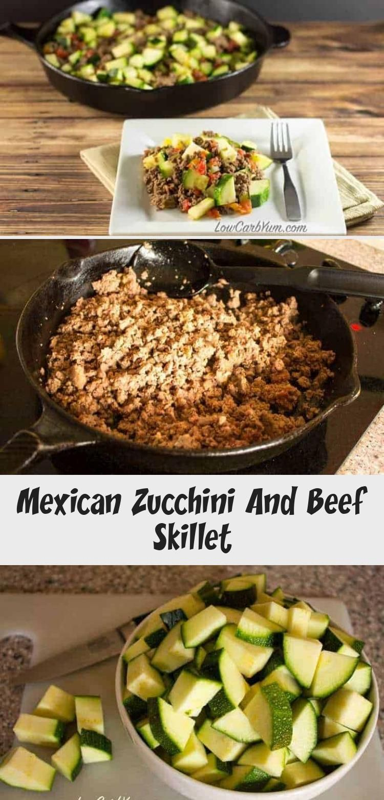 Photo of Mexican Zucchini And Beef Skillet – Minna's Blog