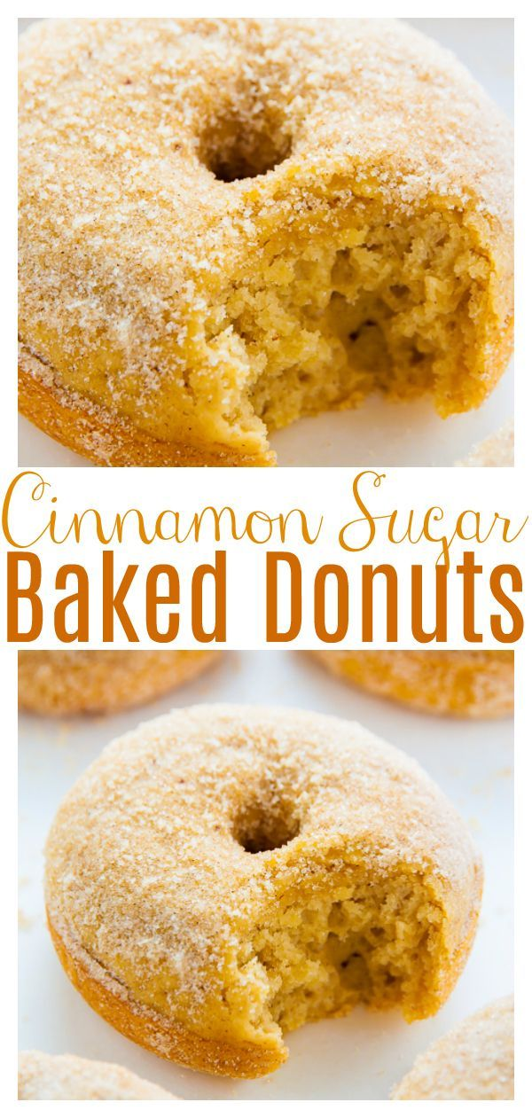 Brown Butter Cinnamon Sugar Donuts – Baker by Nature