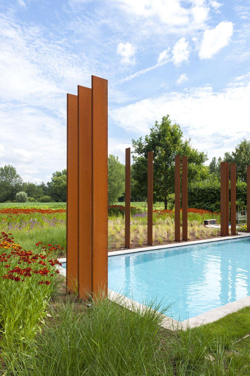 huis Leen en Thomas   DMOA architecten   Corten, Modern farmhouse ...