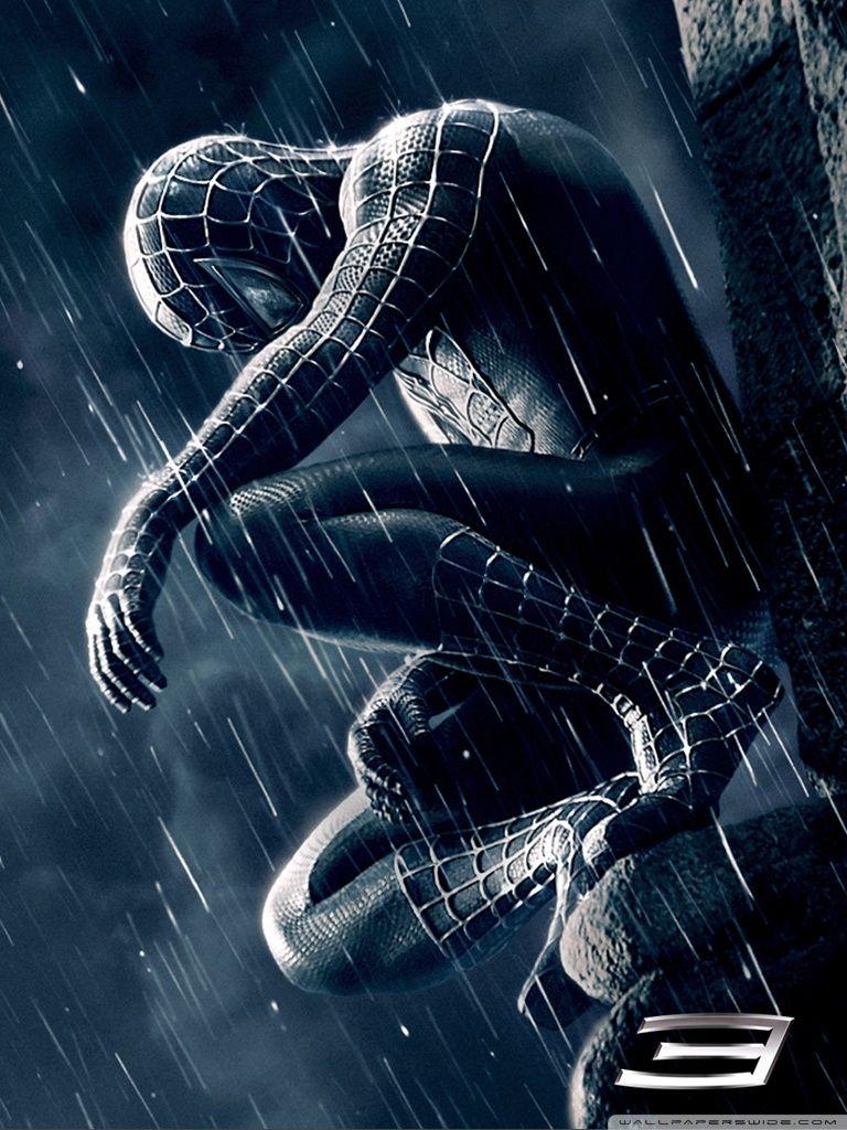 Hd Black Spiderman Wallpaper P Full Size Hirewallpapers Hd