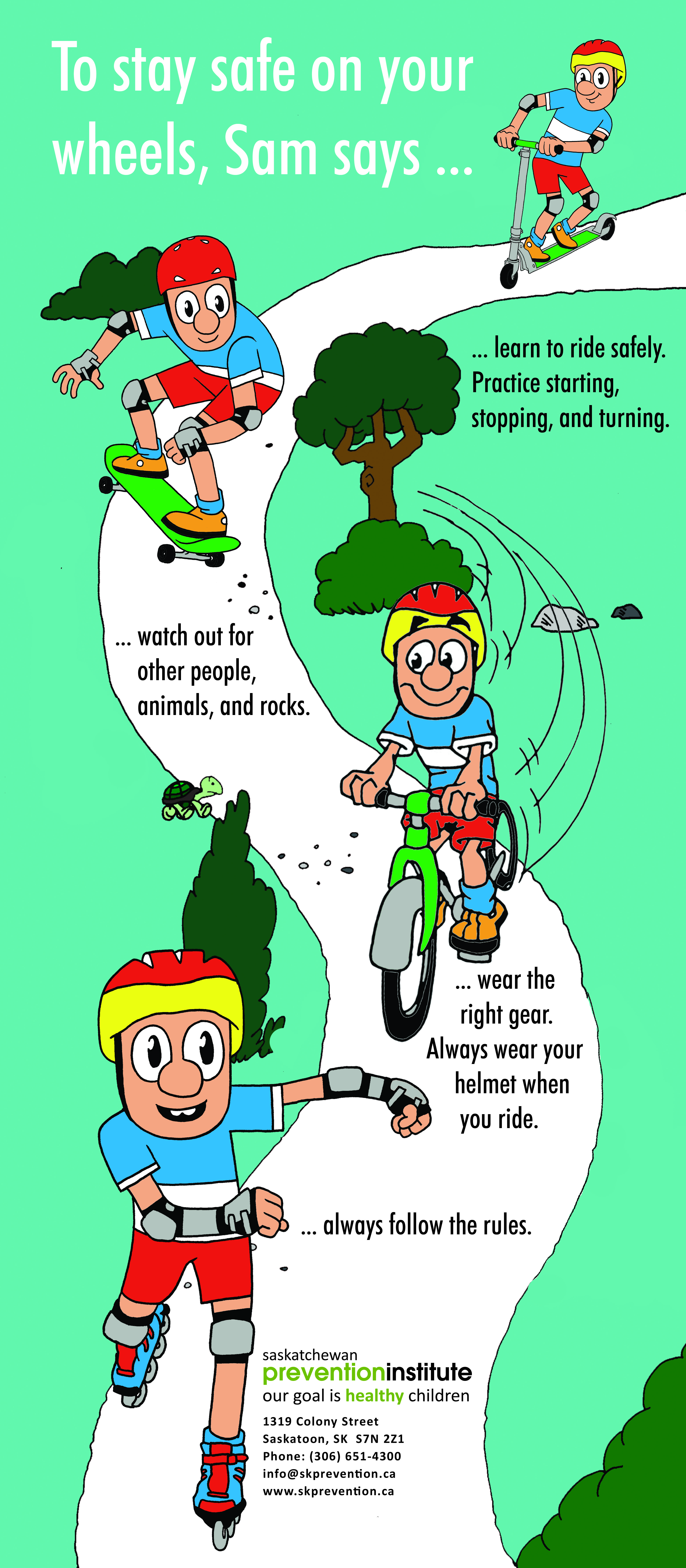 Download bicycle safety packets   Teaching Bicycle Safety ...