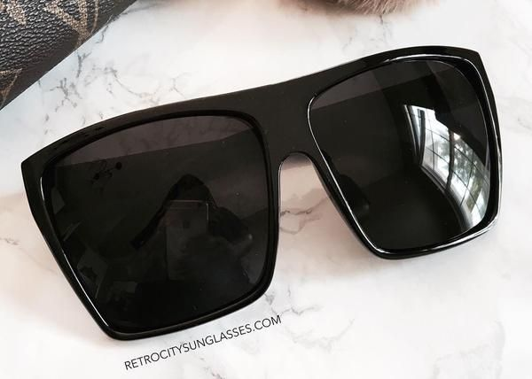 Blackout SunglassesRetro Oversized Oversized City City SunglassesRetro Blackout Oversized xdrtshCBQ