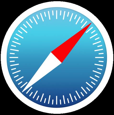 iOS 7 Safari (app icon, large) Ios 7, Safari, App icon