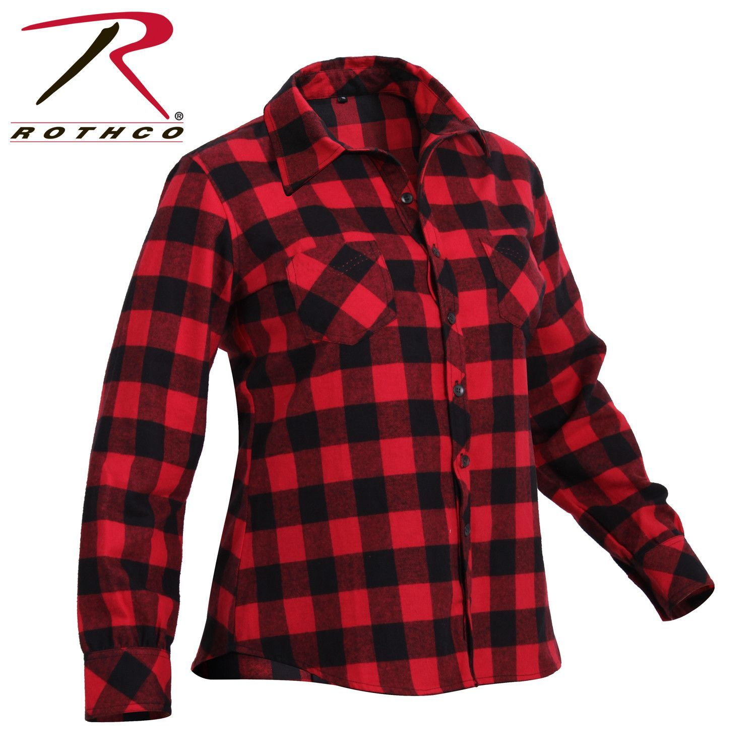 Red plaid flannel jacket  Rothco Womens Plaid Flannel Shirt  Products  Pinterest  Plaid