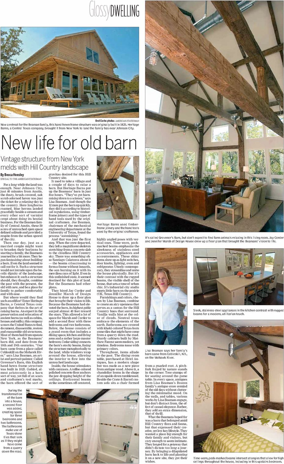 Grovenors News Article   Custom Home Elements   Pinterest   Barn and ...