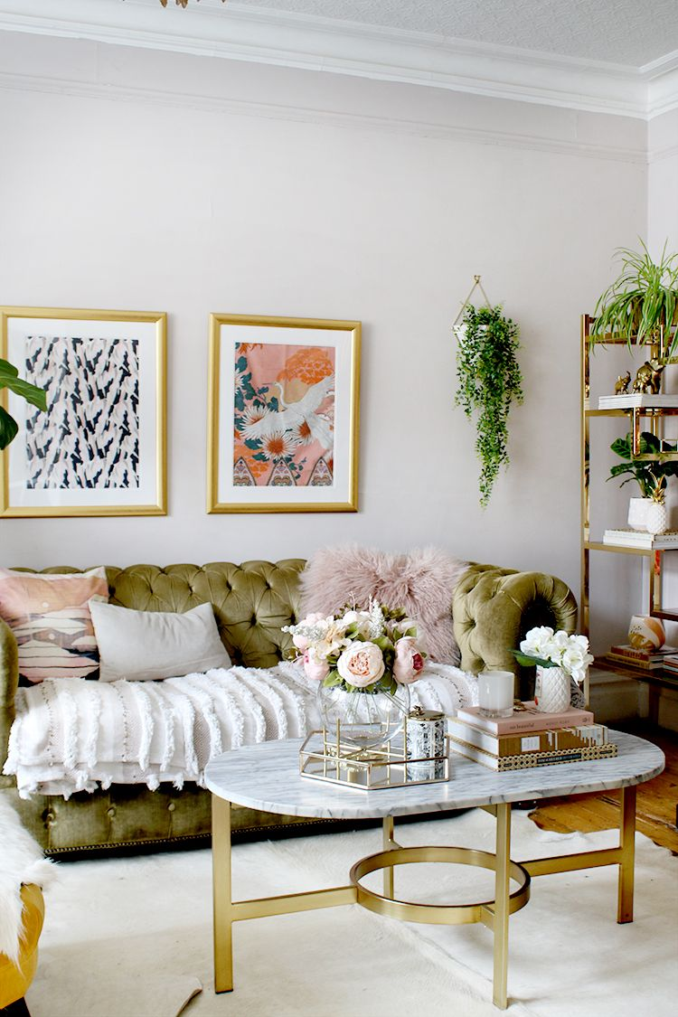 10 decorating lessons you learn in your 30s  olive green