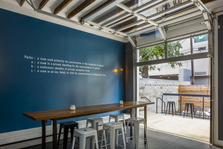 Cornerstone architects bar restaurant design parlor