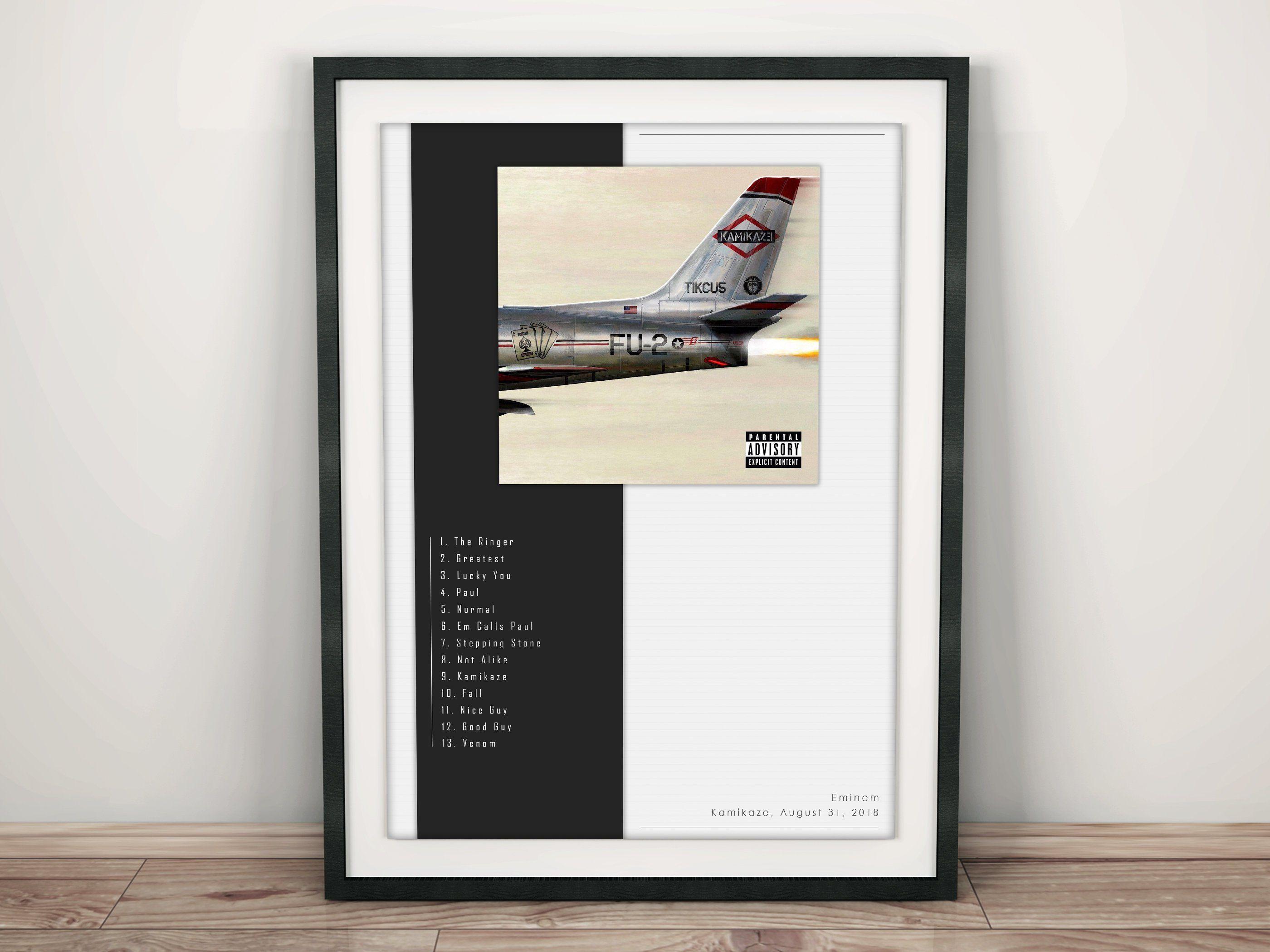 Eminem - Kamikaze / Album Cover Poster [High Quality Poster