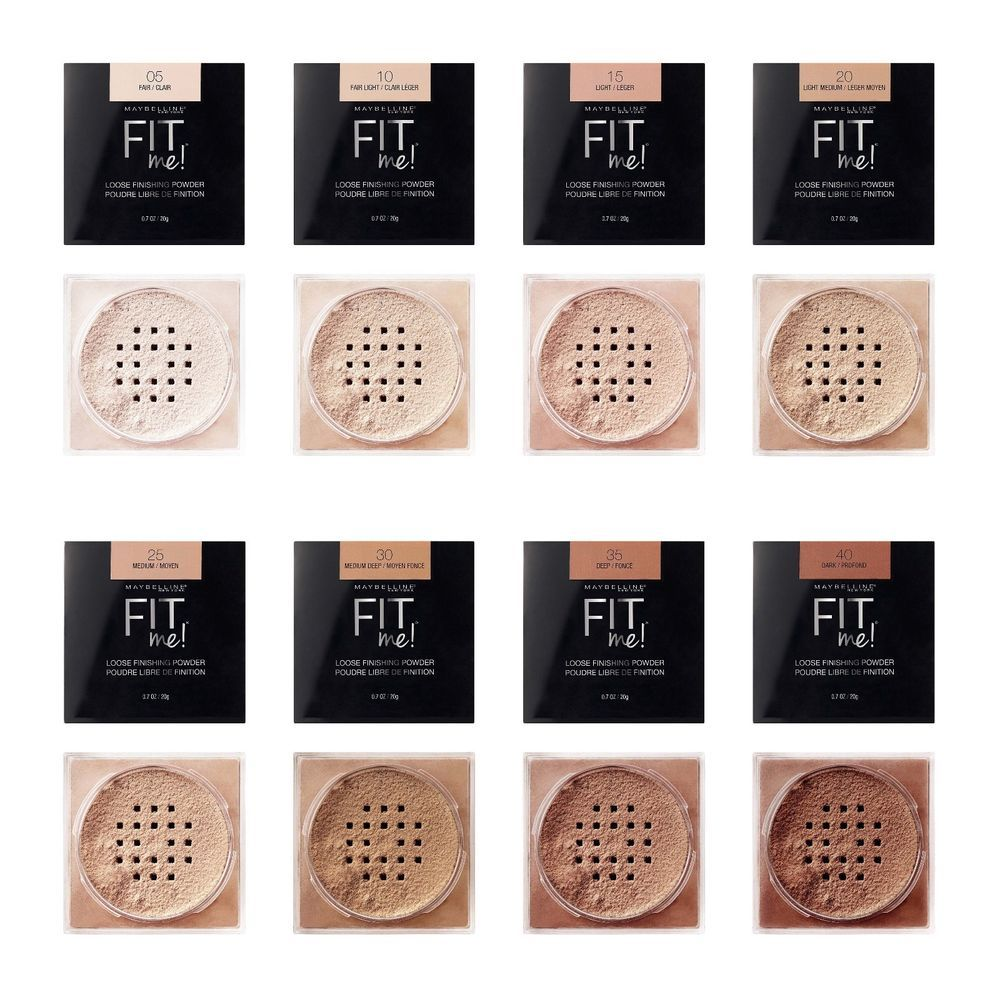 Maybelline Fit Me Loose Finishing Powder Choose Your Shade Made In Usa Powder Makeup Drugstore Maybelline Powder Maybelline Fit Me Powder