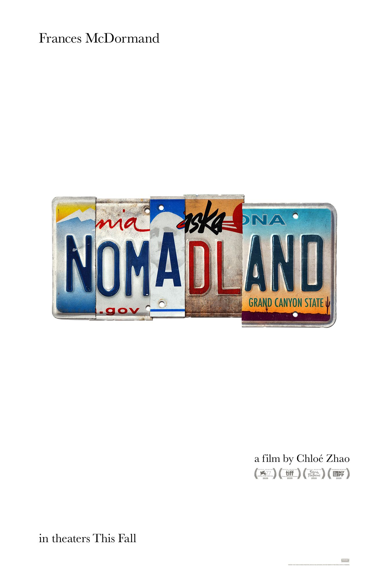 Here S The Teaser Poster For Chloe Zhao S Nomadland Starring Frances Mcdormand In 2020 Film New Movies Coming Soon New Movies