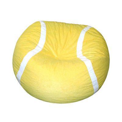 Bean Bag Chair Http Delanico Com Bean Bag Chairs Bean Bag Chair 508890882 Tennis Tennis Ball Bean Bag