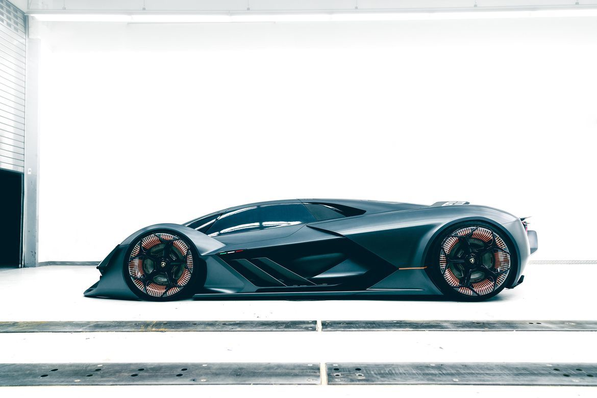 Lamborghini Terzo Millennio Is A Wild Semi Autonomous Supercar Lamborghini Super Cars Electric Car Concept