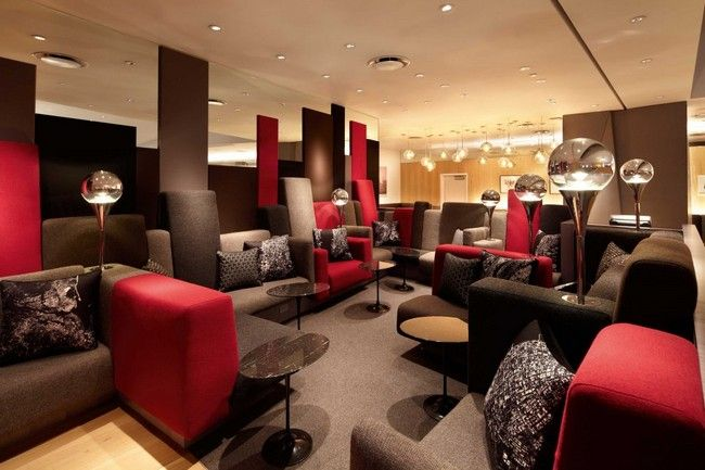 Virgin Atlantic Clubhouse Newark by Slade Architecture