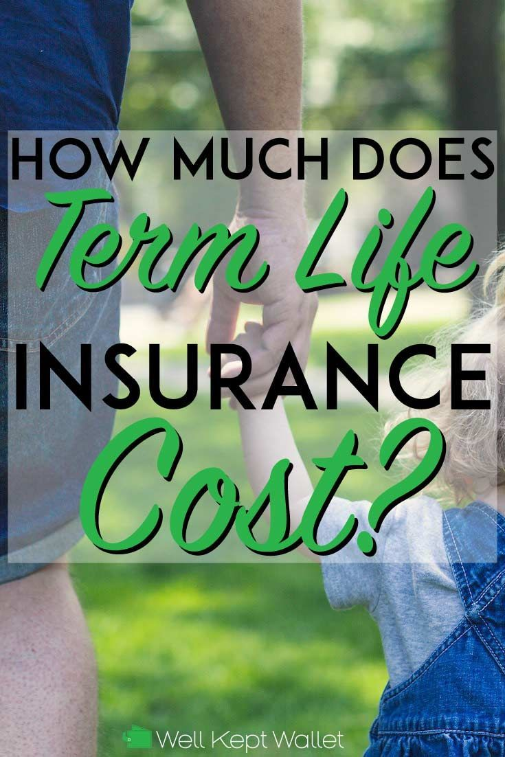 How much does term life insurance cost life insurance