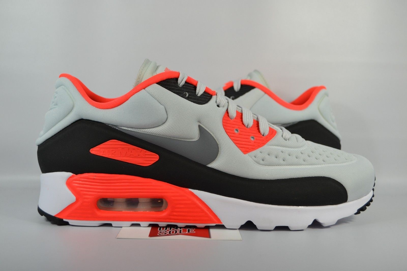 size 40 b351c 86937 NEW Nike Air Max 90 Ultra SE INFRARED PURE PLATINUM GREY 845039-006 sz  10.5. Find this Pin and more on Men s Shoes ...