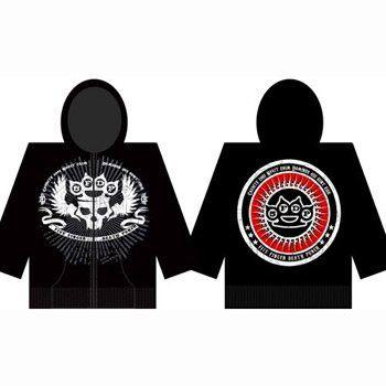 Five Finger Death Punch - Knuckle Zip Mens Hoodie In Black $49.95